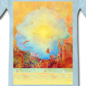 Abstract Peony - Men's Premium T-Shirt