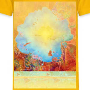 Abstract Peony - Kids' Premium T-Shirt