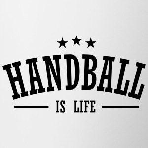 handball is life 3 Mugs & Drinkware - Contrast Coffee Mug