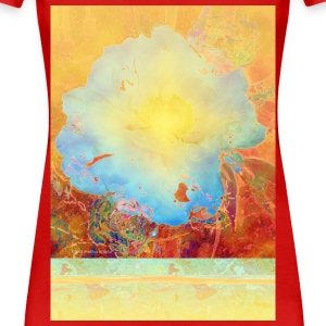 Abstract Peony - Women's Premium T-Shirt