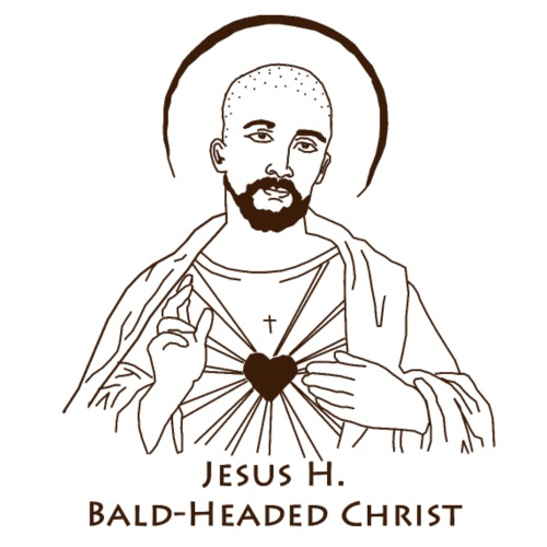 Jesus Bald-Headed Christ