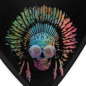 Chief Skull Watercolor Caps - Bandana