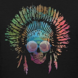 Chief Skull Watercolor T-Shirts - Women's T-Shirt