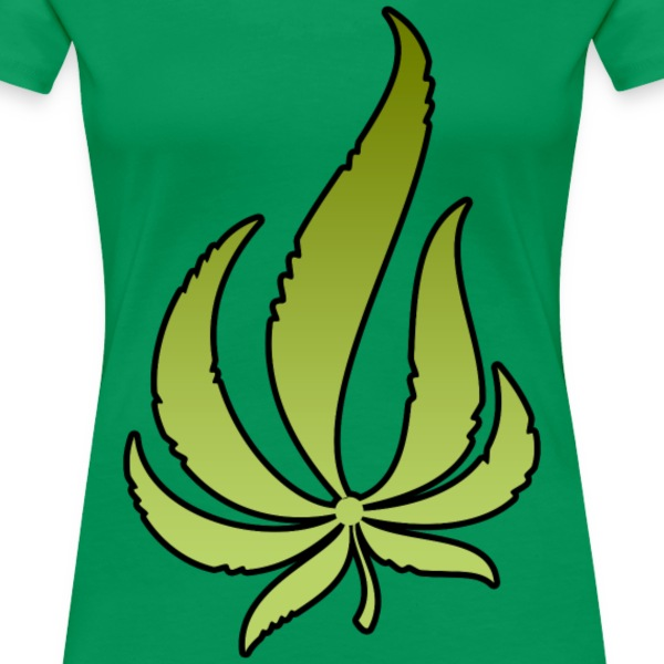 Pot Leaf T-Shirts - Women's Premium T-Shirt