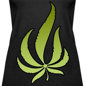 Pot Leaf Tanks - Women's Premium Tank Top