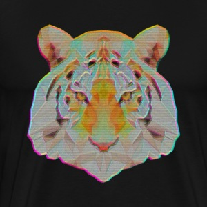 VHS Tiger - Men's Premium T-Shirt