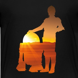 Two Friends r2d2 c3po SHIRT KID - Kids' Premium T-Shirt