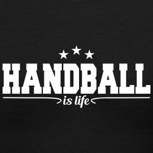 handball is life 4 T-Shirts - Women's V-Neck T-Shirt