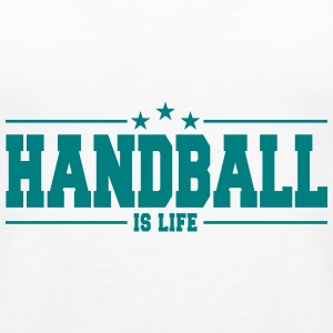 handball is life Tanks - Women's Premium Tank Top
