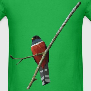 red trogon - Men's T-Shirt