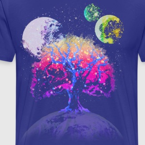 Space Tree of Life - Men's Premium T-Shirt