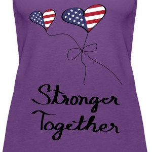 Election Hillary Women's Premium Purple Tank Top - Women's Premium Tank Top