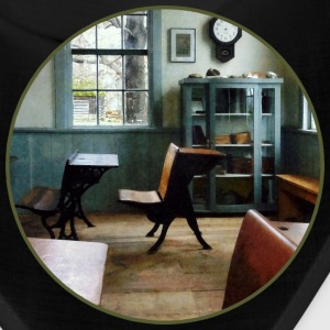 One Room Schoolhouse With Clock Caps - Bandana