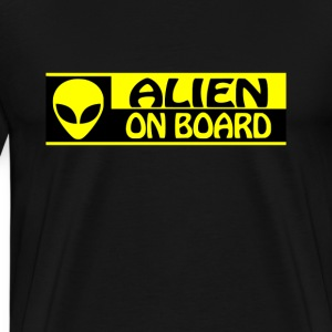 Alien On Board - Men's Premium T-Shirt