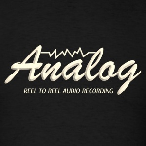 analog old - Men's T-Shirt