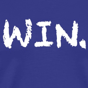 Blue Win Period T-Shirt - Men's Premium T-Shirt