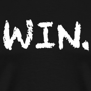 Black Win Period T-Shirt - Men's Premium T-Shirt