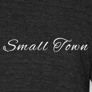 Small Town Original Tri-Blend T-Shirt - Unisex Tri-Blend T-Shirt by American Apparel