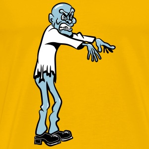 Zombie cool horror comic T-Shirts - Men's Premium T-Shirt