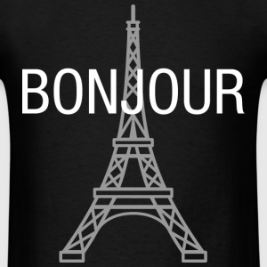 Bonjour Paris T-Shirts - Men's T-Shirt