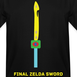 Final Zelda Sword - Men's Tall T-Shirt