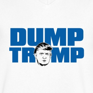 Dump Trump! - Men's V-Neck T-Shirt by Canvas