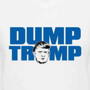 Dump Trump! - Women's V-Neck T-Shirt