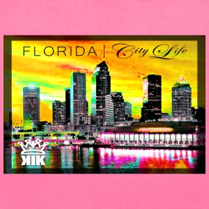 Tampa Skyline TOTE Knowledge Is KING... - Tote Bag