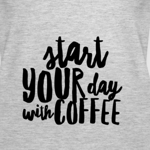 Start Your Day With Coffee - Women's Premium Tank Top