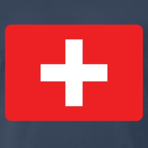 SWISS FRANCS - SWITZERLAND IS THE NUMBER 1 T-Shirts - Men's Premium T-Shirt