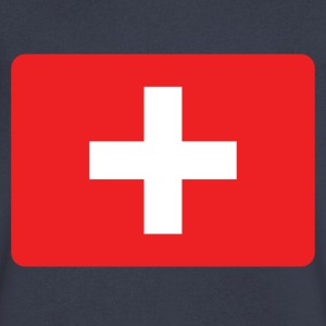 SWISS FRANCS - SWITZERLAND IS THE NUMBER 1 T-Shirts - Men's V-Neck T-Shirt by Canvas