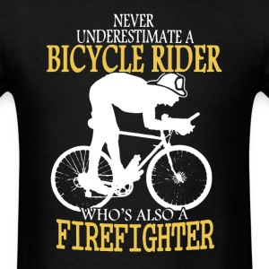 Bicycle Firefighter Shirt - Men's T-Shirt
