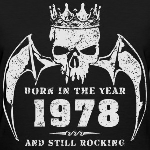 born_in_the_year_197807 T-Shirts - Women's T-Shirt
