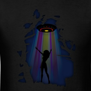 Alien Disco Fever T-Shirts - Men's T-Shirt