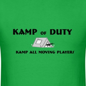 Kamp Of Duty - Men's T-Shirt