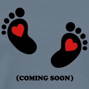 Baby - coming soon T-Shirts - Men's Premium T-Shirt