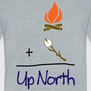 Cute Up North Math S'mores T-Shirts - Unisex Tri-Blend T-Shirt by American Apparel