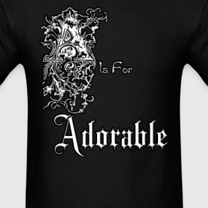 A is for Adorable Mens T-Shirt - Men's T-Shirt