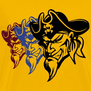 pirates evil T-Shirts - Men's Premium T-Shirt