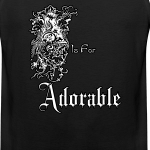 A is for Adorable Mens Premium Tank Top - Men's Premium Tank