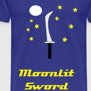 Moonlit Sword - Men's Premium T-Shirt