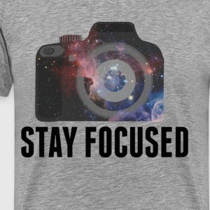 Stay Focused Photographer - Men's Premium T-Shirt