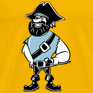 Pirate dreispitz T-Shirts - Men's Premium T-Shirt