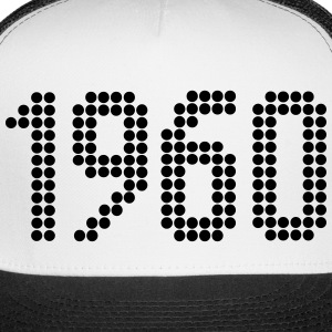 1960, Numbers, Year, Year Of Birth Sportswear - Trucker Cap
