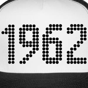 1962, Numbers, Year, Year Of Birth Sportswear - Trucker Cap