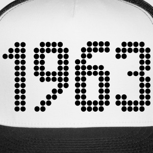 1963, Numbers, Year, Year Of Birth Sportswear - Trucker Cap