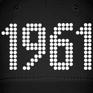 1961, Numbers, Year, Year Of Birth Sportswear - Baseball Cap