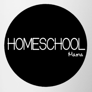 Homeschool Mama Mug - For The Homeschooling Mom  - Contrast Coffee Mug