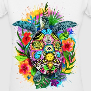 Aloha Turtle - Women's V-Neck T-Shirt