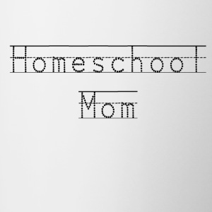 Homeschool Mom Mug  - For The Homeschooling Mama - Contrast Coffee Mug